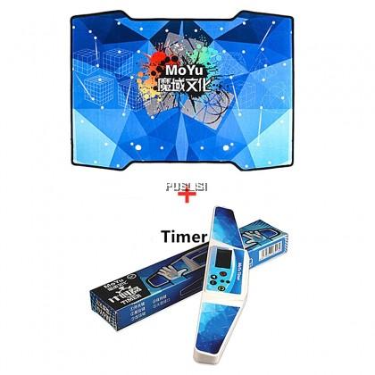 MOYU Original Speed cube Stacking Cup Mat Timer
