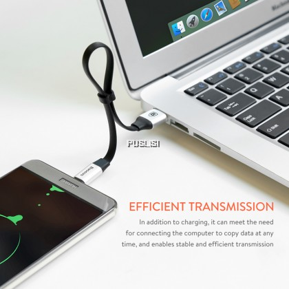 Baseus Original Type C Short 23cm 2A Fast Charging USB Type-C Cable For Android Powerbank Samsung Huawei Xiaomi Oppo Vivo