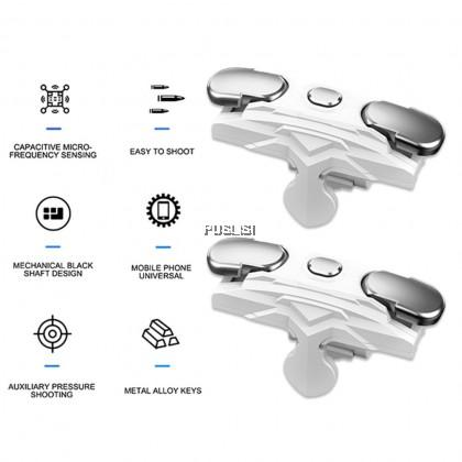 Mini PUBG Mobile Gamepad Controller Game Trigger L1R1 Button Joystick Joystick