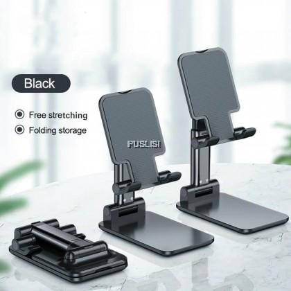 Original Material Universal Foldable Phone Stand Support Desk Mobile Phone Holder Stand For iPhone iPad Adjustable Metal Desktop Tablet Holder