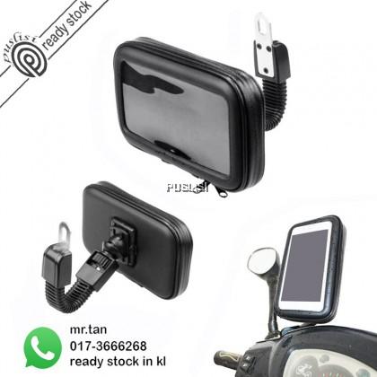 Bike Bicycle Motorcycle Waterproof Phone Case bag with Mount Holder