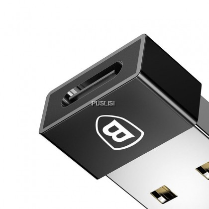 Baseus USB Male to Type C Female 2.4A Cable OTG U Disk Charger Adapter Plug Converter for Samsung S8