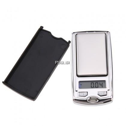 200g/0.01g Digital Scale Jewellery Car Key Style High Accuracy Jewelry Gram Pocket Scale scale