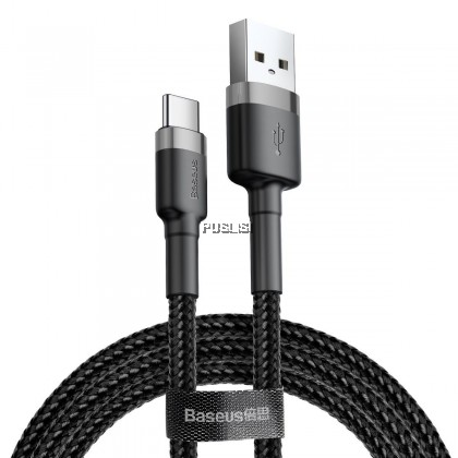 Baseus Kevlar Type C Quick Charge QC3 QC2 USB Fast Charging Data Transfer Cable  3A for Samsung Xiaomi Vivo