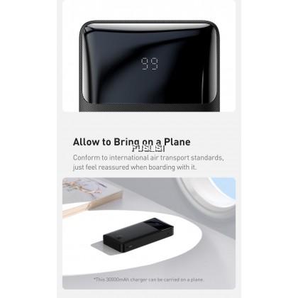 Baseus Slim Bipow Digital Display Power Bank 15W3A output micro input for Xiaomi iPhone OPPO Huawei