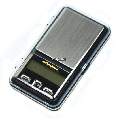 Amput 200g x 0.01g Precision Digital Pocket Scale Jewellery Weighing Scale Jewellery Weighing Scale