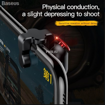 BASEUS PUBG G9 Shooting Game Controller Trigger Shooter Assist Tools Button Aim Key Joystick