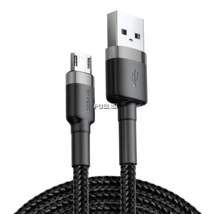 Baseus Original Reversible Micro USB Fast Charging Data Cable Kevlar Cable 2.4A