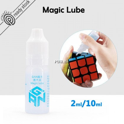 GAN Magic lube cube lubricating Oil Lubricant Lube for Rubiks Cube Speed Puzzle Magic Cube silicone lubricants