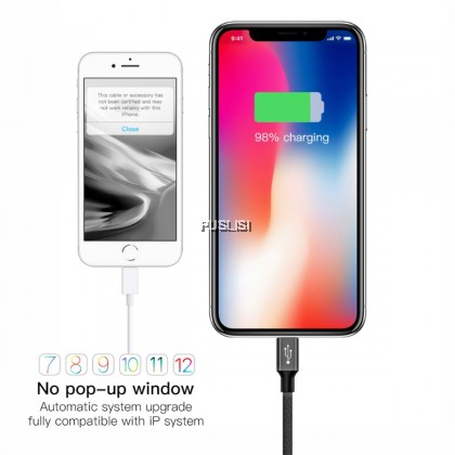 Baseus Nylon 5M 500CM USB Cable for iPhone 7 6s Plus 2A Fast Charging Cable Reversible for Apple iPhone Charger X 8 Plus Cable USB