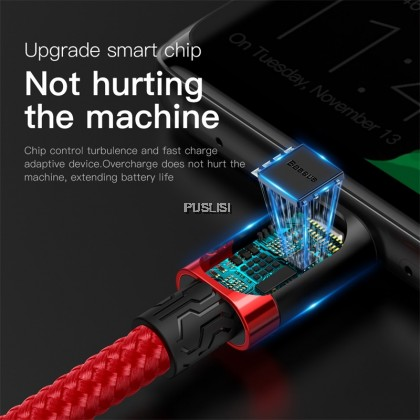 Baseus 5A Supercharge USB Type C Cable for Huawei Mate 30 P30 Lite P30 Quick Charge 3.0 Cable USB C Charger Phone Charging Cord