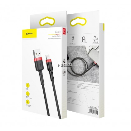 Baseus Original USB Cable For iPhone 11 Pro Max X XR XS 8 7 6 6s Plus Fast Charging Phone Cable For iPhone SE 2 5 5s iPad Data Wire Cord