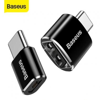 Baseus Original Type C Male to USB Female OTG Adapter Mini Usb c OTG Charger Plug Adapter Converter for USB Female to Type-C Male