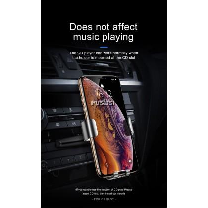Baseus Original Metal Age Gravity CD Slot CarMount Phone Holder For Iphone Samsung Xiaomi Oppo Huawei