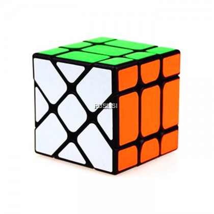 Ready Stock Yong Jun Speed Professional Rubik Cube Magic Cube 3X3X3 Sticker Stickerless